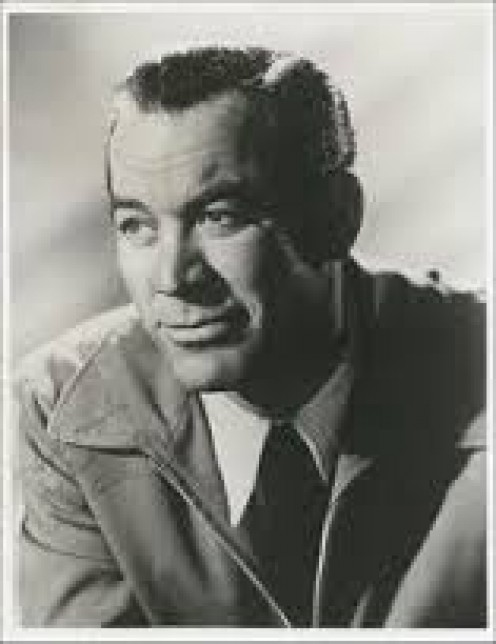 Ward Bond dressed up
