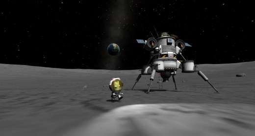 Kerbal Space Program Mun Lander