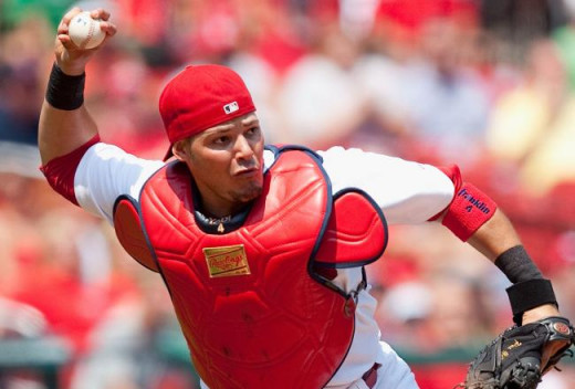 Yadier Molina's defense behind the plate helps to make the Cardinals a legit contender.