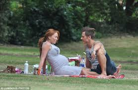 Natasha Hamilton and  Richie Neville