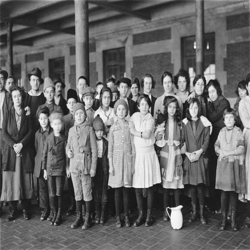 Millions of Irish entered the United States through Ellis Island