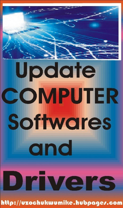 Updating computer and laptop software and drivers help in maintaining good health of the devices.