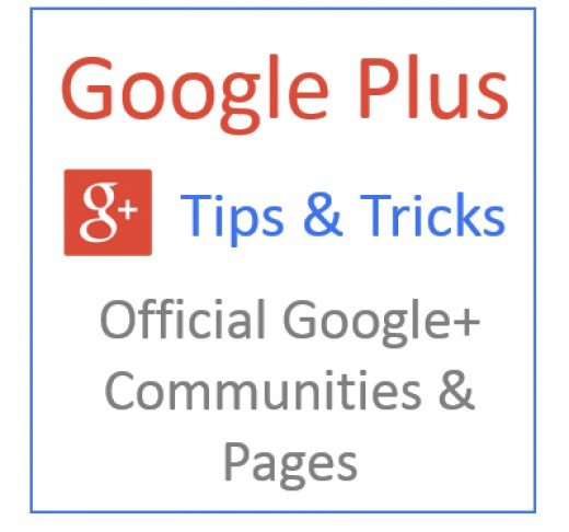 Here's a list of the official Google Plus communities & pages