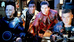 The cast of Red Dwarf