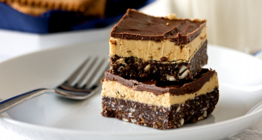 Nanaimo bars are layers of wafer, icing, and chocolate
