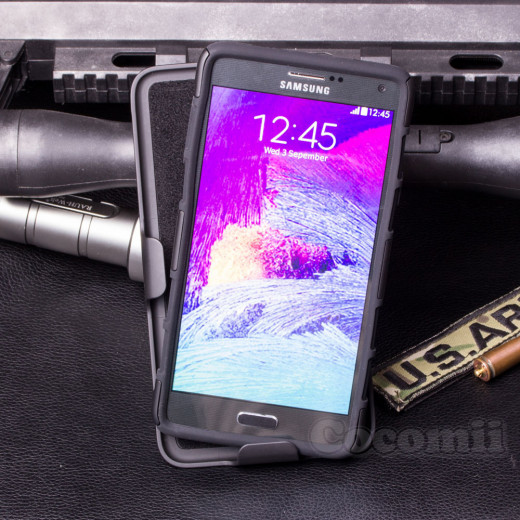 BEST Galaxy NOTE 4 Case Unique Fullbody Rugged Design With Style & Utmost Protection!