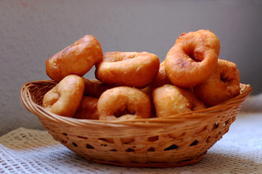These Rosquillas en Miel were dried out from the honey before serving
