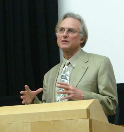 Richard Dawkins author of The God Delusion