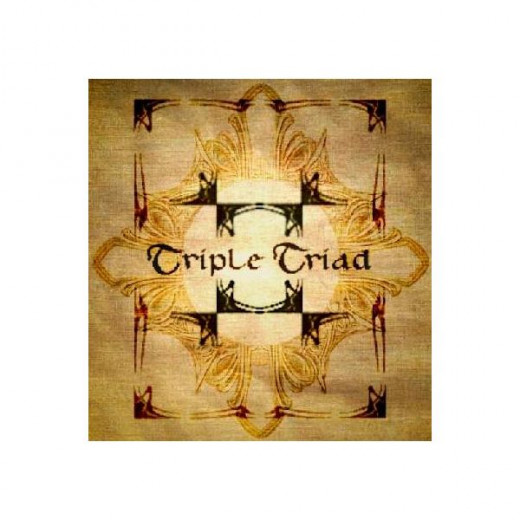 The Triple Triad board used in Final Fantasy 8.