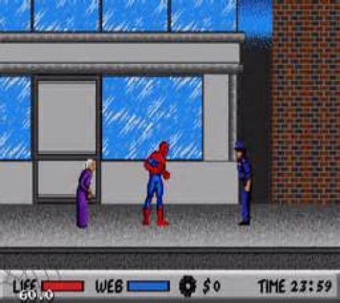 Spiderman vs. Kingpin was an awesome side scrolling action game.