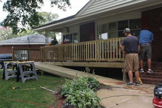 Even simple home improvement projects like building a deck can be significantly easier with the aid of a smartphone.