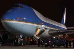 Front view--Air Force One