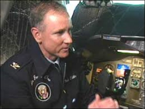 Col. Mark Tillman, Senior pilot Air Force One