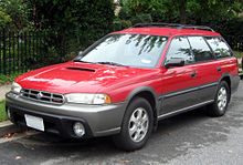 The Subaru Legacy Outback