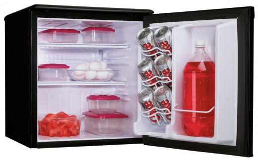 The Danby DAR195BL is available in black, and spotless steel colors, and offers excellent value for money.  This all refrigerator is ideal of student dorm rooms, bedrooms, garages, and office spaces.  The Danby is Energy Star compliant.