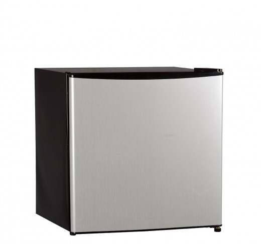 The Midea HS-65L is a quiet operator at a very affordable price.  Energy saving and environmentally friendly, the unit has a reversible door-left or right swing for convenience and racks on the door for versatility.