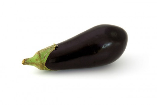 The eggplant is a vegetable that is a member of the nightshade family of plants