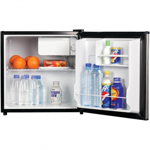 The Magic Chef MCBR170BMD is perfect for bedrooms, offices spaces, garages, or college dorm rooms.  It features a separate freezer compartment, reversible door, and full range temperature control.  Its flush back design saves space.