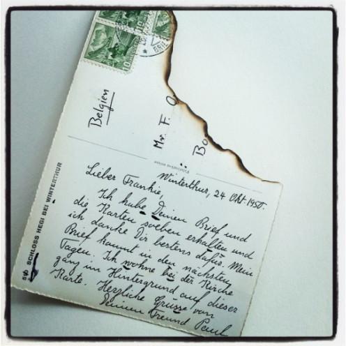 A Postcard Code