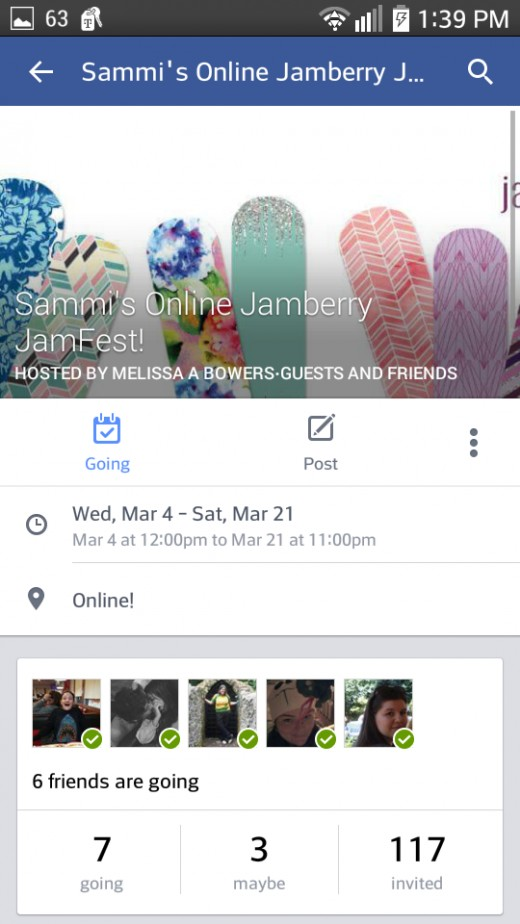 Or an invite only Facebook event.