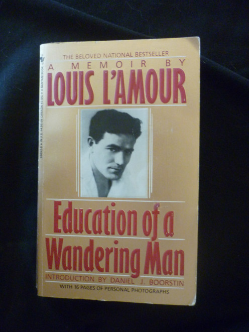 Book by Louis L'Amour Education of a Wandering Man