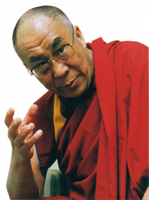 The current and 14th Dalai Lama of Tibet