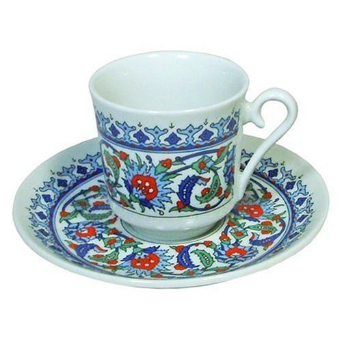 Turkish Coffee Set (Cup and Saucer) available on Amazon B001DS5DHS