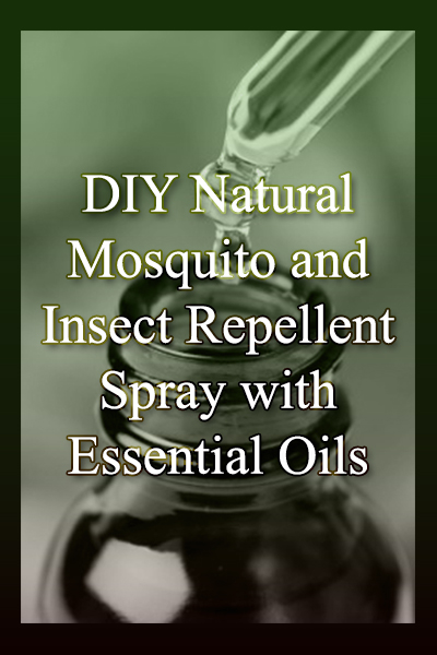 How to easily create safe, natural insect repellant sprays in your own home.