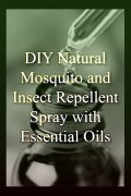 DIY Natural Mosquito and Insect Repellent Spray with Essential Oils