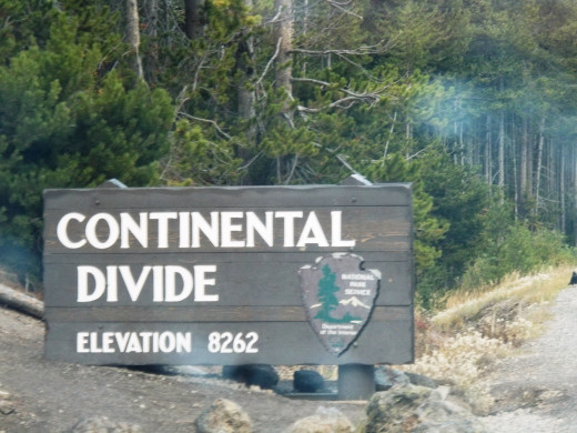 We crossed the Continental Divide never knowing what was waiting for us on the other side just 12 days later.