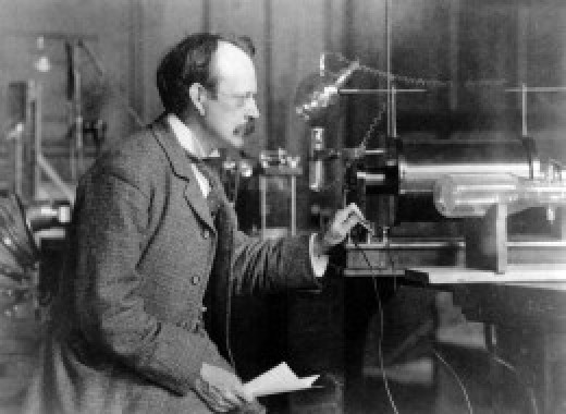 J.J. Thomson was Cavendish Professor and head of the Cavendish Laboratory from 1894 to 1919. J.J. is best known for his work on the electron. Credit: Cambridge University, Cavendish Laboratory.