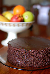 Home made chocolate cake - Looking for a good recipe check out the link