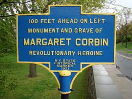 Margaret Corbin marker