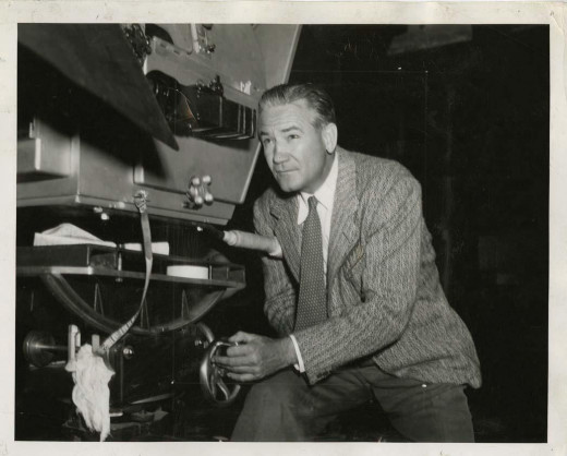 "Victor Fleming behind the camera. In the same year he captured Judy Garland saying ""There's no place like home,"" and Vivien Leigh saying, ""Tomorrow is another day."""