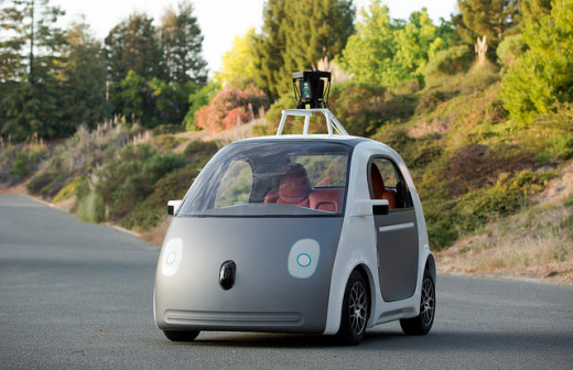 The compact self-driving car.