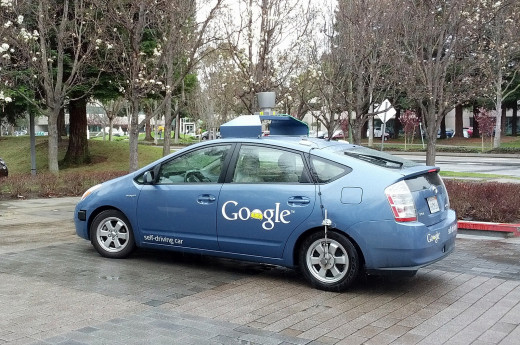 Self-driving cars can park themselves
