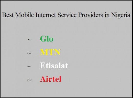 Best Mobile Internet Service Providers in Nigeria
