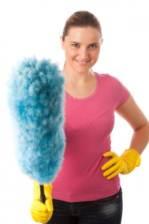 Fluffy feather dusters might look impressive but you are just spreading the dust around!