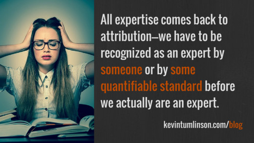 Trying to pin down a definition of expertise is enough to make you pull your hair out.