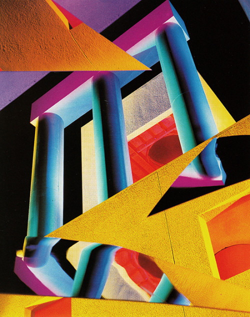 Barbara Kasten, Architectural Site No. 8, 1986