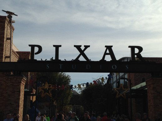 PIXAR Place is one of my favorite parts of the park.