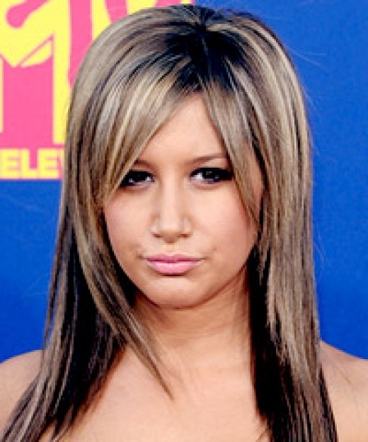Ashley Tisdale Hairstyles Try on Ashley Tisdale's hairstyles with our