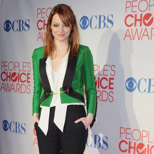 The lovely Emma Stone is a regular at most Hollywood awards shows