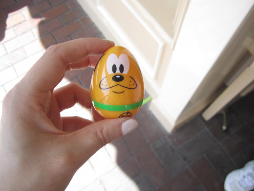 My egg hunt prize for finding them all.