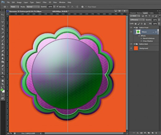 maya how to make a 50 opacity button
