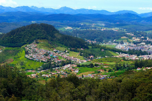 Morning View of Ooty