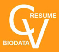 Appropriateness of Resume, C.V. and Bio-Data