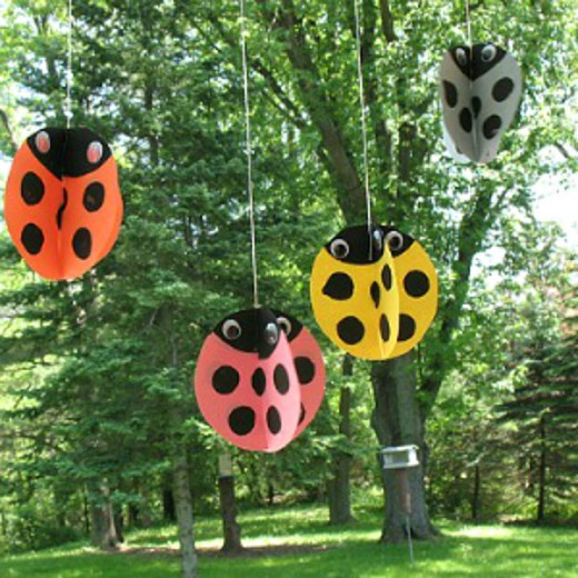 lady bug crafts ideas