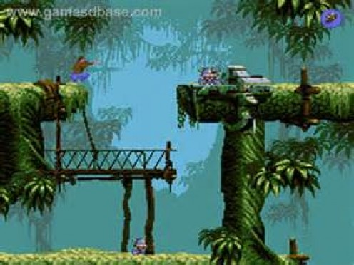 Flashback has beautiful backgrounds and the game itself is one of the best selling Sega CD games ever produced.