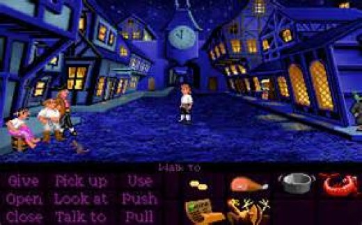The Secret of Monkey Island is loosely based on The Pirates of the Caribbean.